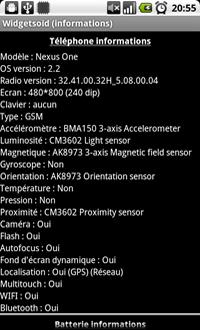 [WIDGET] WIDGETSOID : Un lot de widgets pour votre Android [Gratuit] Widgetsoid2.2_5_mini